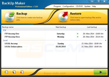 BackUp Maker Professional Edition v7.100