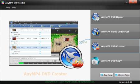 AnyMP4 DVD Toolkit v6.0.56