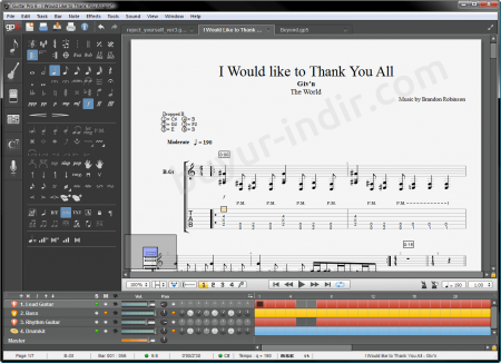 Guitar Pro v7.0.5.699 + Ses Kütüphanesi