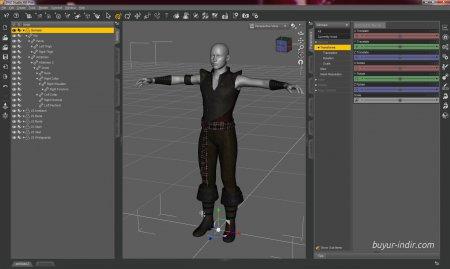 DAZ Studio Pro v4.8.0.55 + Eklenti Paketi