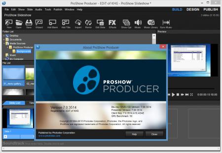Photodex ProShow Producer v7.0 Katılımsız