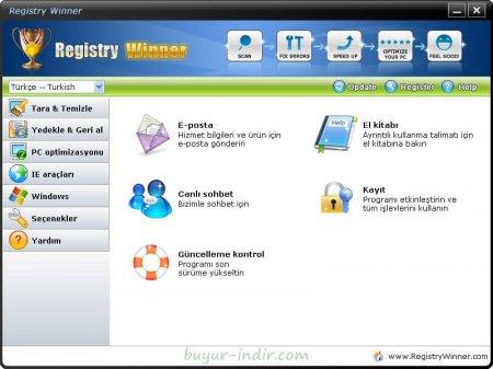Registry Winner v6.9.11.6 Türkçe