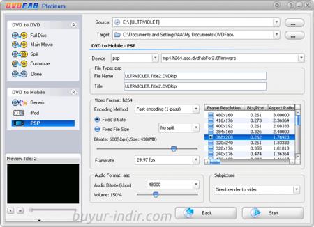 DVDFab Platinum v9.3.1.0 Türkçe