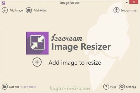 IceCream Image Resizer v1.15 Türkçe