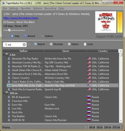 Tapin radio 1,40-это интегрированное бесплатный радиоплеер
