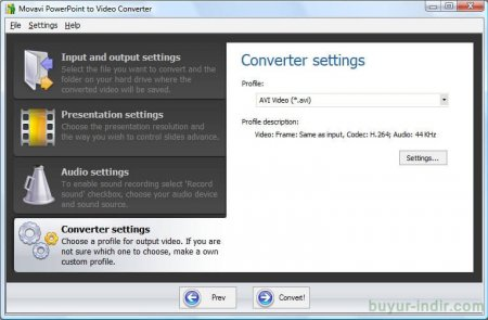 Movavi PowerPoint to Video Converter v2.2.1