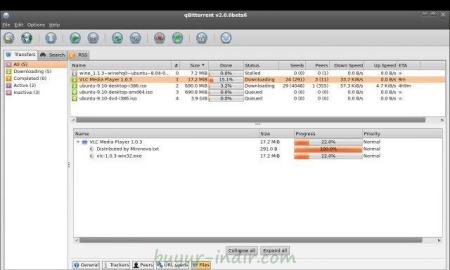 qBittorrent v3.2.5 Türkçe