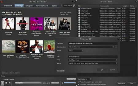 Hot MP3 Downloader v3.6.3.2