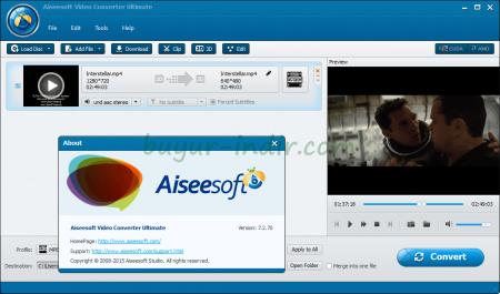 Aiseesoft Video Converter Ultimate v7.2 Katılımsız