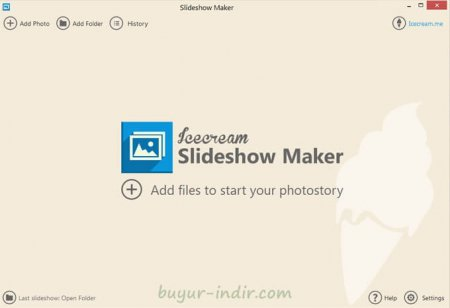 IceCream Slideshow Maker v1.62 Türkçe