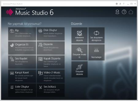 Ashampoo Music Studio v7.0.2.4 Türkçe