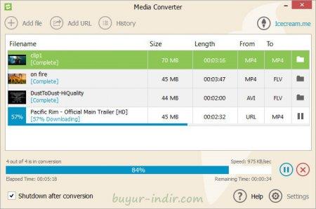 IceCream Media Converter v1.44 Türkçe