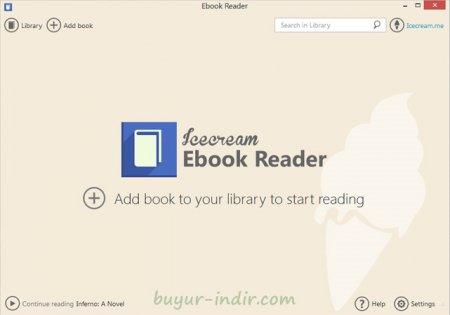 IceCream Ebook Reader Pro v4.11 Türkçe