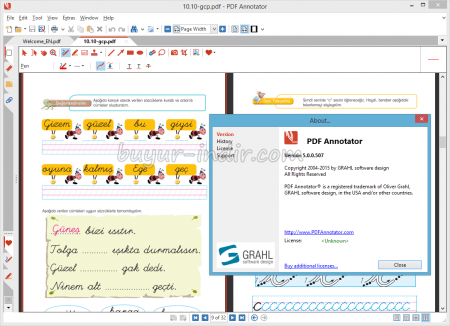 PDF Annotator v5.0 Katılımsız