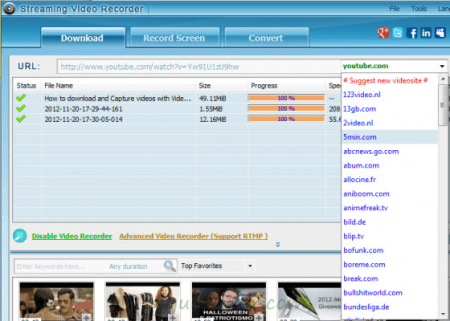 Apowersoft Streaming Video Recorder v6.0.2 Türkçe