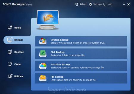 AOMEI Backupper Pro / Technician / Server v3.5
