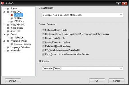 AnyDVD & AnyDVD HD v8.1.3.0 Türkçe