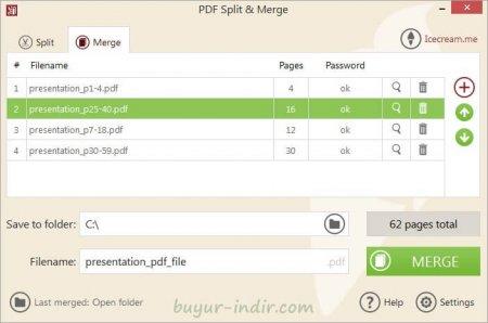 IceCream PDF Split-Merge Pro v3.29 Türkçe