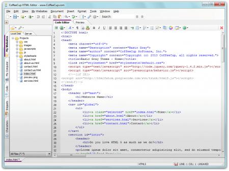 CoffeeCup HTML Editor v15.3 B797