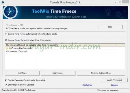 ToolWiz Time Freeze v3.2
