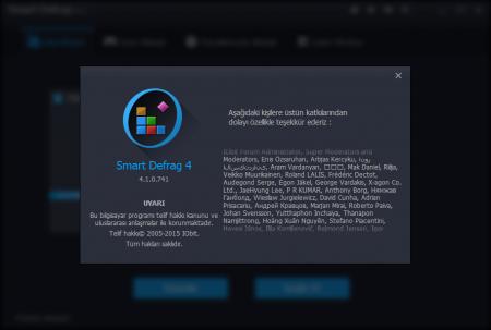 Smart Defrag v4.1.0 Türkçe Katılımsız