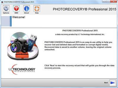 LC Technology Photorecovery Pro 2017 v5.1.5.2 Türkçe