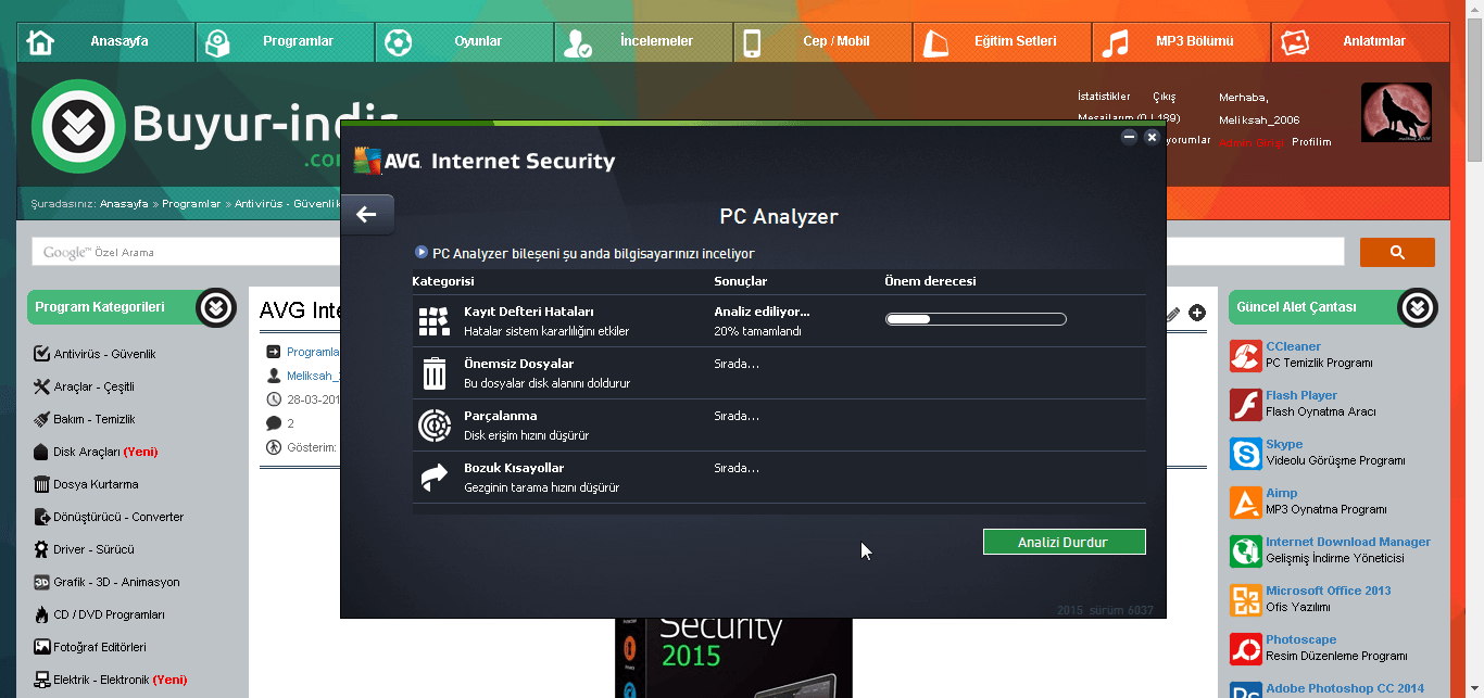 AVGyi bilgisayarınızdan tamamen kaldırma