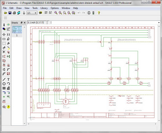 Modern Cadsoft Eagle Professional Elaboration - Electrical Circuit ...