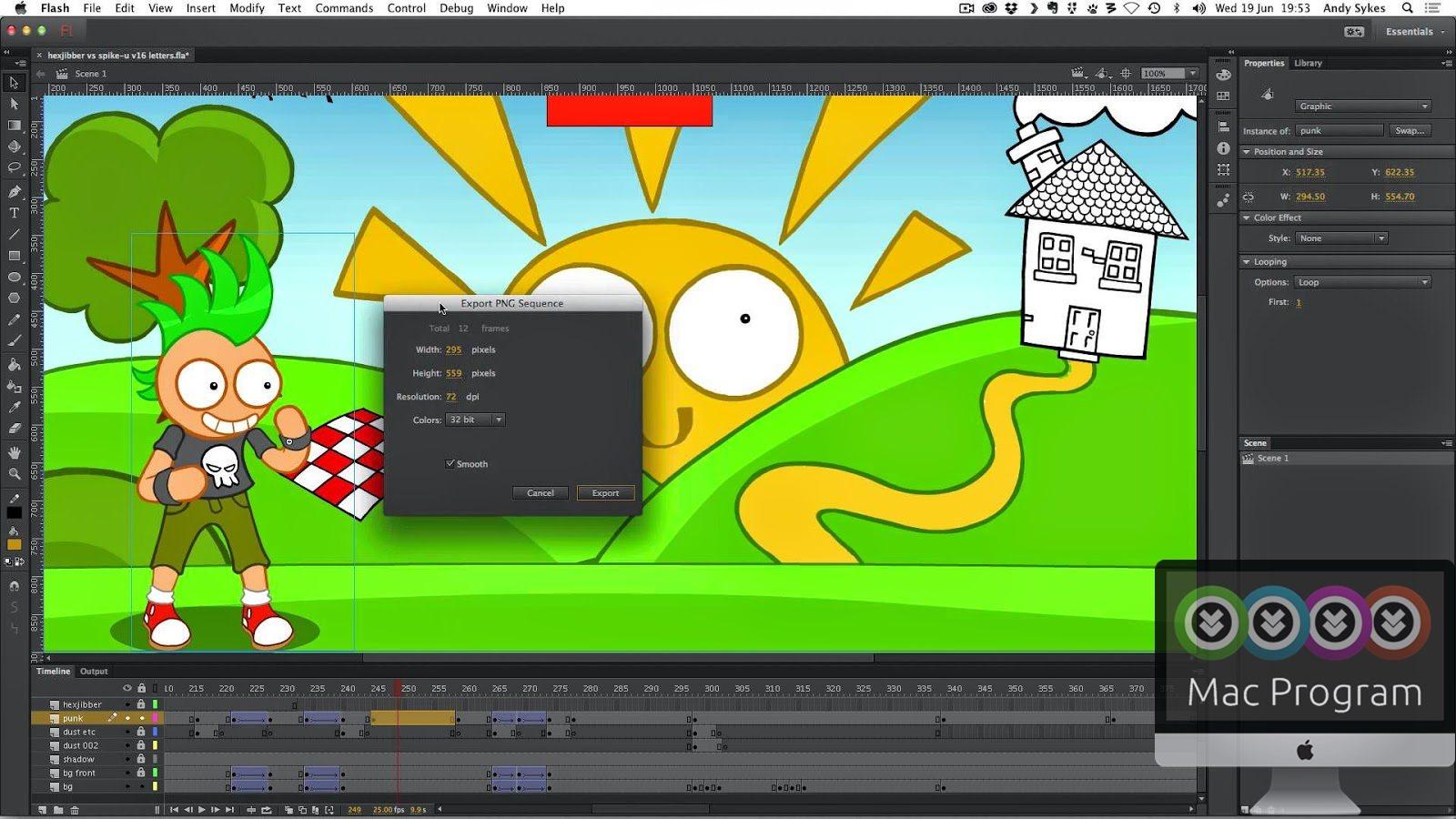 Флеш анимация онлайн