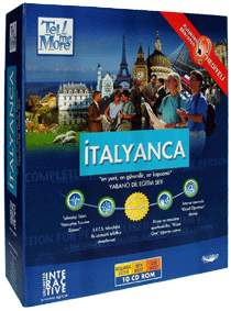 Tell Me More İtalyanca Eğitim Seti Türkçe