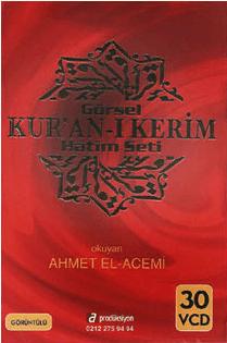 Türkçe Mealli Kuran Hatim Seti 30 VCD