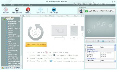 Any Video Converter Ultimate v6.2.4 Türkçe