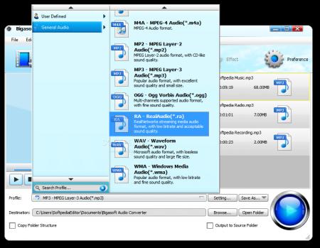 Bigasoft Audio Converter Pro v4.6.0.5582