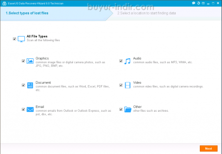 EaseUS Data Recovery Wizard Pro v9.8.0