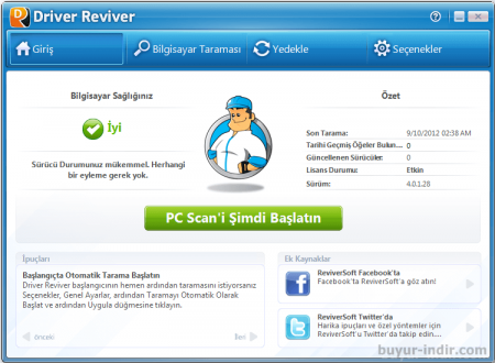 ReviverSoft Driver Reviver v5.9.0.12