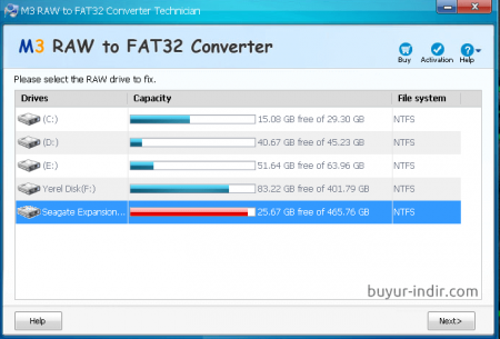 M3 RAW to FAT32 / NTFS Converter v3.7 Portable