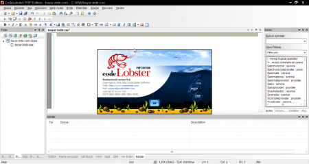 CodeLobster PHP Edition Pro v5.9.1 Türkçe