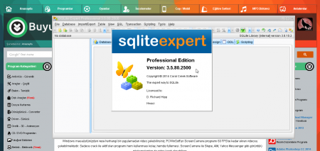 SQLite Expert Professional v5.2.2.291