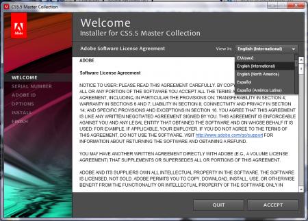 Adobe CS5.5 Master Collection