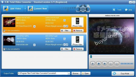 Total Video Converter HD v3.71 Türkçe