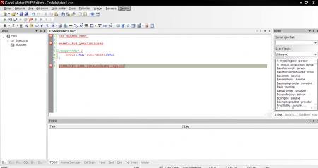 CodeLobster PHP Edition Pro v5.9.1 Türkçe