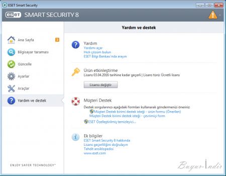 ESET Smart Security v8 - Güncel Çalışan Serial Kodları