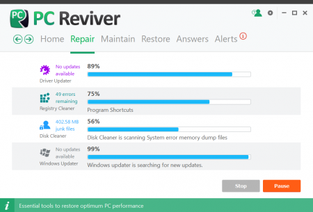 ReviverSoft PC Reviver v2.10.0.8