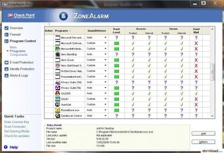 ZoneAlarm Pro v10.1