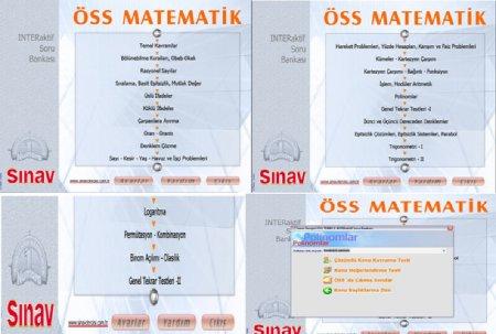 Sınav Dershanesi ÖSS İnteraktif Soru Bankası Seti 5 VCD