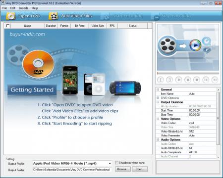 Any DVD Converter Pro v6.0.5 Türkçe