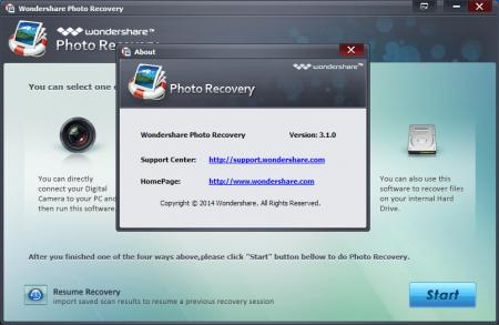 Wondershare Photo Recovery v3.1.0.8 Katılımsız