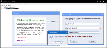 RAR Password Recovery Magic v6.1.1.393