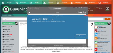 Zemana AntiMalware Premium v2.21.2.180 Türkçe