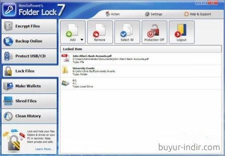 Folder Lock v7.7.4